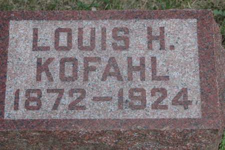 KOFAHL, LOUIS H - Clinton County, Iowa   LOUIS H KOFAHL
