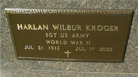 KROGER, HARLAN WILBUR - Clinton County, Iowa | HARLAN WILBUR KROGER