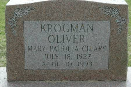KROGMAN, MARY PATRICIA CLEARY - Clinton County, Iowa | MARY PATRICIA CLEARY KROGMAN