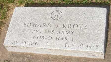 KROTZ, EDWARD J. - Clinton County, Iowa | EDWARD J. KROTZ