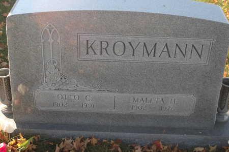 KROYMANN, OTTO C. - Clinton County, Iowa | OTTO C. KROYMANN