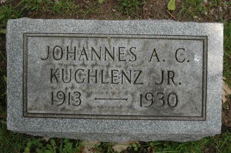 KUCHLENZ, JOHANNES A.C. JR. - Clinton County, Iowa   JOHANNES A.C. JR. KUCHLENZ