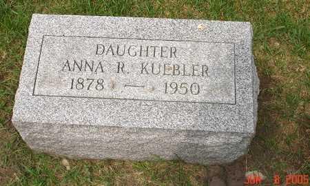 KUEBLER, ANNA R. - Clinton County, Iowa | ANNA R. KUEBLER