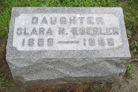 KUEBLER, CLARA R. - Clinton County, Iowa   CLARA R. KUEBLER