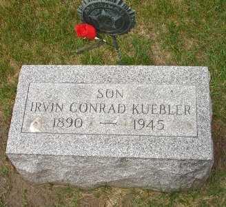 KUEBLER, IRVING CONRAD - Clinton County, Iowa | IRVING CONRAD KUEBLER
