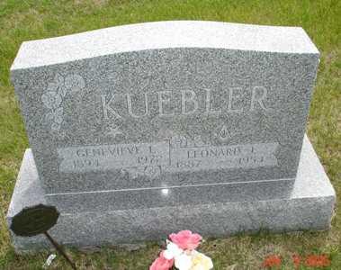 KUEBLER, LEONARD J. - Clinton County, Iowa | LEONARD J. KUEBLER