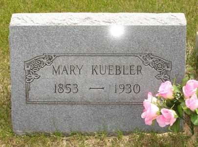 KUEBLER, MARY - Clinton County, Iowa   MARY KUEBLER