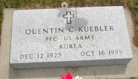 KUEBLER, QUENTIN C. - Clinton County, Iowa | QUENTIN C. KUEBLER