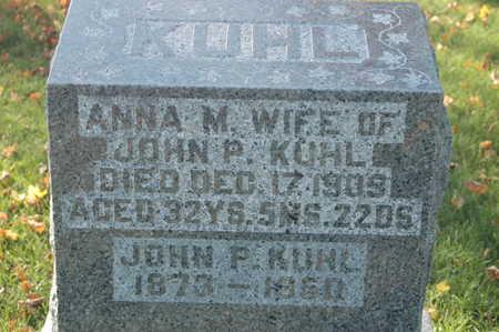 KUHL, JOHN P. - Clinton County, Iowa   JOHN P. KUHL