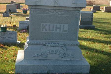 KUHL, FAMILY MONUMENT - Clinton County, Iowa   FAMILY MONUMENT KUHL