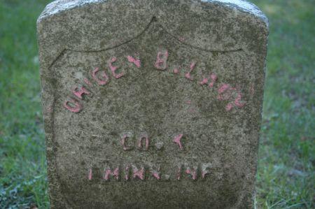 LACY, ORIGEN B. - Clinton County, Iowa   ORIGEN B. LACY