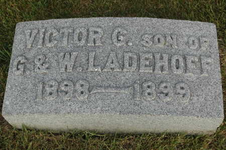 LADEHOFF, VICTOR G. - Clinton County, Iowa | VICTOR G. LADEHOFF