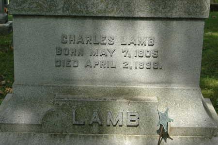 LAMB, CHARLES - Clinton County, Iowa | CHARLES LAMB