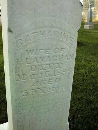 LANAGHAN, CATHARINE - Clinton County, Iowa   CATHARINE LANAGHAN