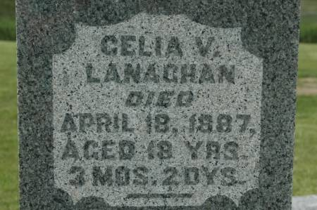LANAGHAN, CELIA V. - Clinton County, Iowa   CELIA V. LANAGHAN