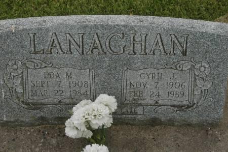 LANAGHAN, EDA M. - Clinton County, Iowa | EDA M. LANAGHAN