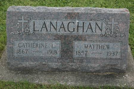 LANAGHAN, CATHERINE L. - Clinton County, Iowa | CATHERINE L. LANAGHAN