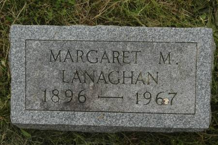 LANAGHAN, MARGARET M. - Clinton County, Iowa | MARGARET M. LANAGHAN