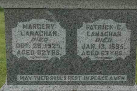 LANAGHAN, MARGERY - Clinton County, Iowa   MARGERY LANAGHAN