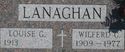 LANAGHAN, WILFERD C. - Clinton County, Iowa | WILFERD C. LANAGHAN
