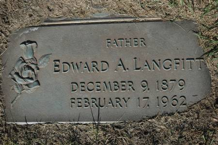 LANGFITT, EDWARD A. - Clinton County, Iowa   EDWARD A. LANGFITT