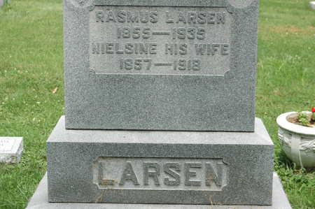 LARSON, NIELSINE - Clinton County, Iowa | NIELSINE LARSON