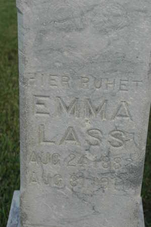 LASS, EMMA - Clinton County, Iowa   EMMA LASS