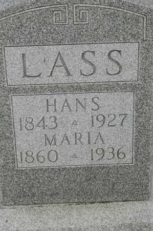 LASS, HANS - Clinton County, Iowa | HANS LASS