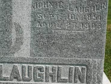 LAUGHLIN, JOHN C. - Clinton County, Iowa   JOHN C. LAUGHLIN