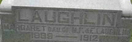 LAUGHLIN, MARGARET - Clinton County, Iowa | MARGARET LAUGHLIN