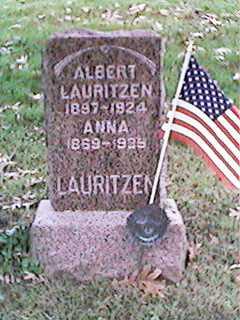 LAURITZEN, ALBERT - Clinton County, Iowa | ALBERT LAURITZEN
