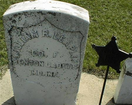 LEAPLEY, WILLIAM R. - Clinton County, Iowa   WILLIAM R. LEAPLEY
