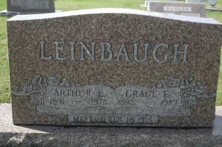 LEINBAUGH, GRACE E. - Clinton County, Iowa   GRACE E. LEINBAUGH