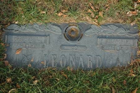 LEONARD, GEORGE A. - Clinton County, Iowa | GEORGE A. LEONARD