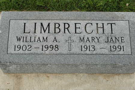 LIMBRECHT, WILLIAM A. - Clinton County, Iowa | WILLIAM A. LIMBRECHT