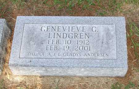 LINDGREN, GENEVIEVE G. - Clinton County, Iowa | GENEVIEVE G. LINDGREN