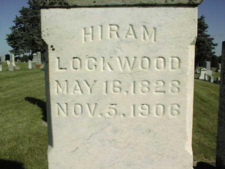 LOCKWOOD, HIRAM - Clinton County, Iowa | HIRAM LOCKWOOD