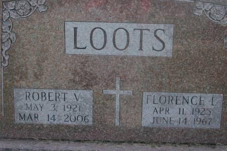LOOTS, FLORENCE E. - Clinton County, Iowa | FLORENCE E. LOOTS