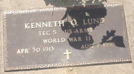 LUND, KENNETH O. - Clinton County, Iowa | KENNETH O. LUND