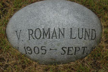 LUND, V. ROMAN - Clinton County, Iowa   V. ROMAN LUND