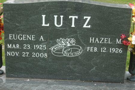 LUTZ, HAZEL M. - Clinton County, Iowa   HAZEL M. LUTZ