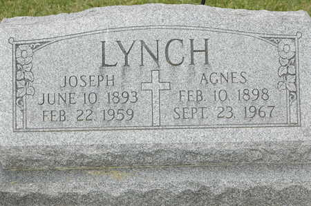 LYNCH, AGNES - Clinton County, Iowa | AGNES LYNCH