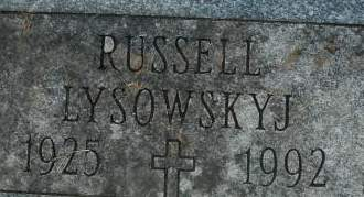 LYSOWSKYJ, RUSSELL - Clinton County, Iowa | RUSSELL LYSOWSKYJ