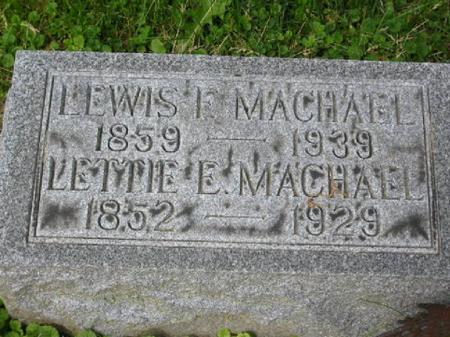 MACHAEL, LETTIE - Clinton County, Iowa | LETTIE MACHAEL