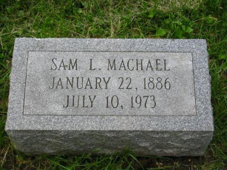 MACHAEL, SAMUEL - Clinton County, Iowa | SAMUEL MACHAEL