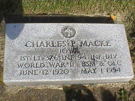 MACKE, CHARLES - Clinton County, Iowa | CHARLES MACKE