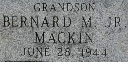MACKIN, BERNARD M JR - Clinton County, Iowa | BERNARD M JR MACKIN