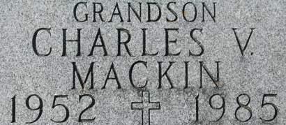 MACKIN, CHARLES V. - Clinton County, Iowa | CHARLES V. MACKIN