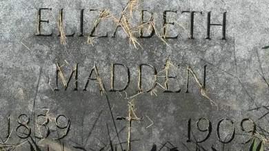MADDEN, ELIZABETH - Clinton County, Iowa | ELIZABETH MADDEN
