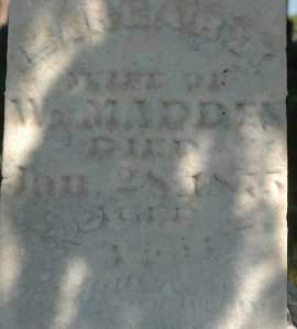 MADDEN, MARGARET - Clinton County, Iowa | MARGARET MADDEN
